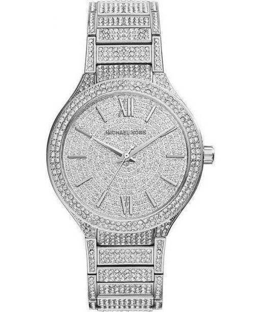 Michael Kors Kerry Crystal Pave Stainless Steel MK3359 Womens Watch