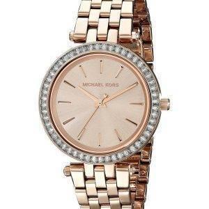 Michael Kors Darci Mini cristaux Rose Gold Tone MK3366 Women Watch