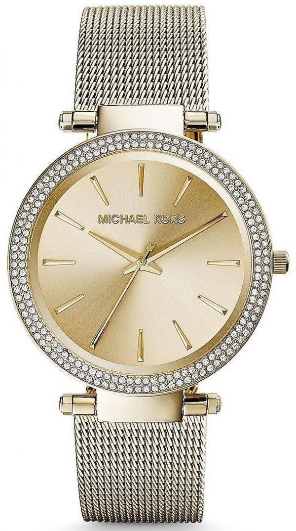 Michael Kors Darci Gold Tone Crystals MK3368 Womens Watch