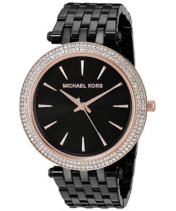 Michael Kors Darci Black Dial MK3407 Womens Watch