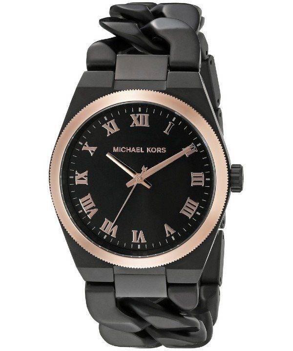 Michael Kors Channing Black Dial MK3415 Womens Watch