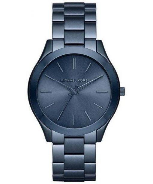 Michael Kors Slim Runway Blue Dial MK3419 Womens Watch