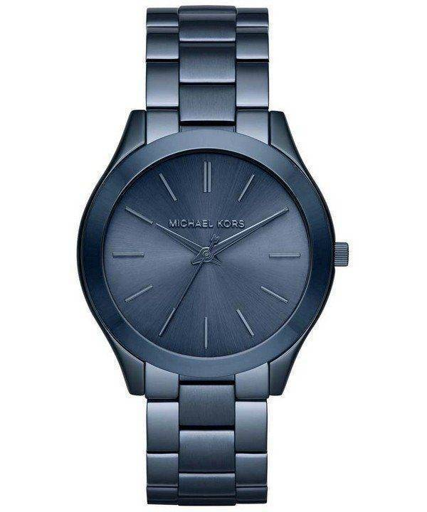 Michael Kors Slim Runway Blue Dial MK3419 Womens Watch