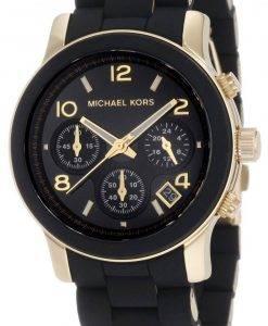Montre Michael Kors chronographe noir Catwalk MK5191 féminin