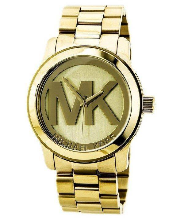 Montre Michael Kors en relief MK logo MK5473 féminin