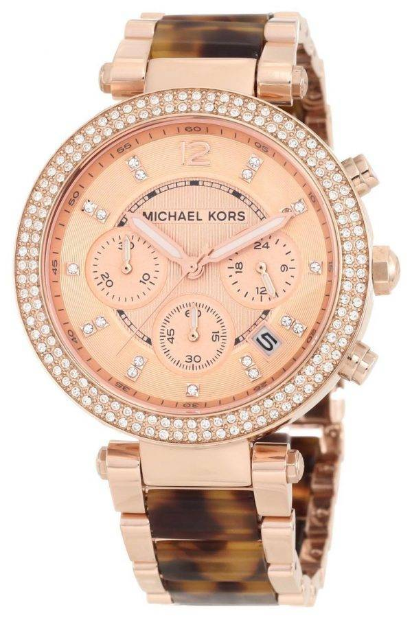 Michael Kors Parker Crystals Chronograph MK5538 Womens Watch