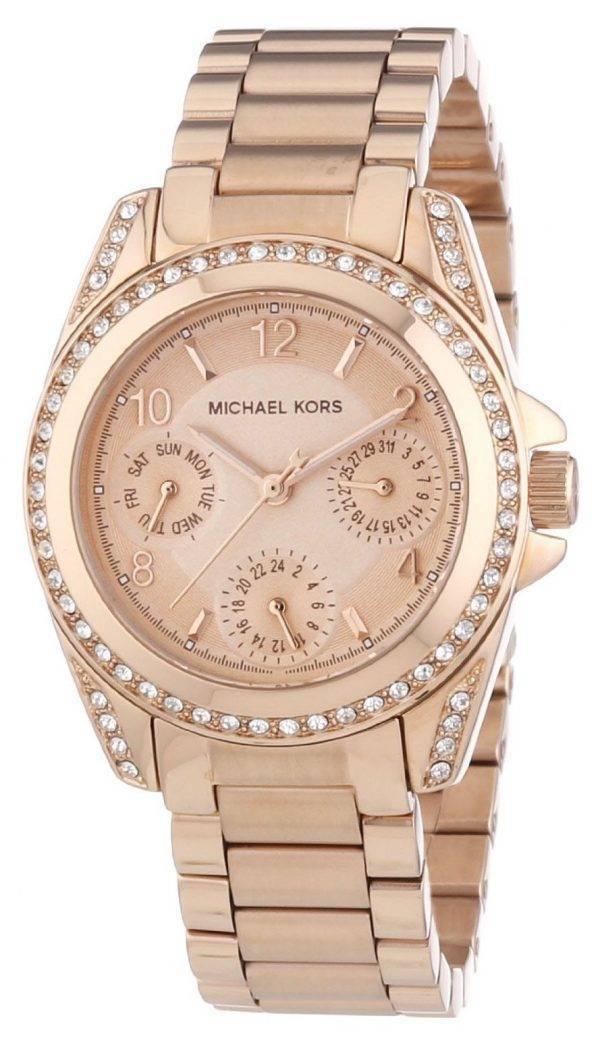 Michael Kors Blair Rose Gold Crystal MK5613 Womens Watch