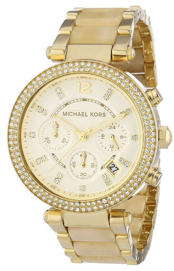 Michael Kors Parker Chronograph Crystals MK5632 Womens Watch