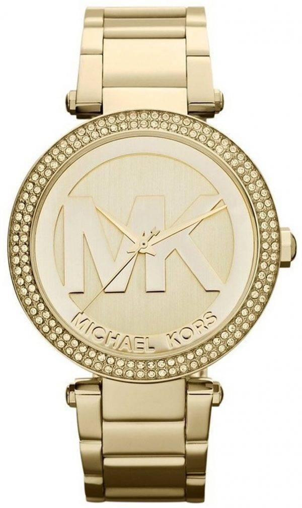 Montre Michael Kors Parker cristaux Logo MK MK5784 féminin