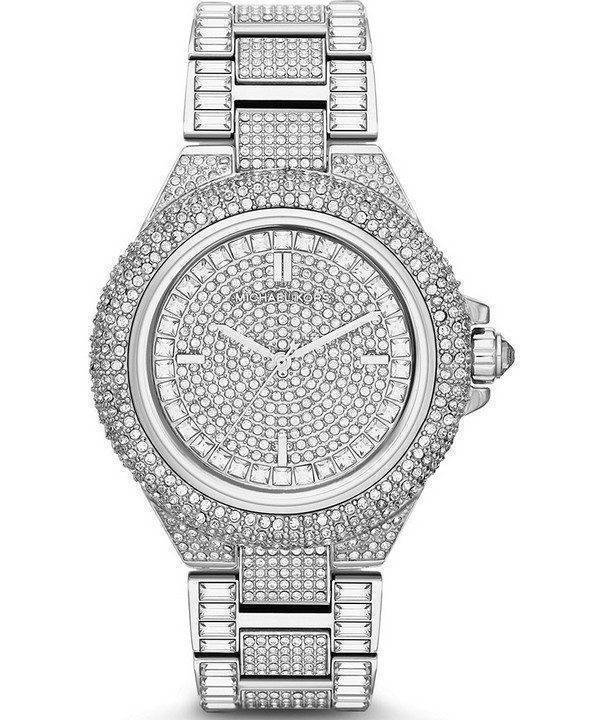 Michael Kors Camille Crystals Pave Dial MK5869 Womens Watch