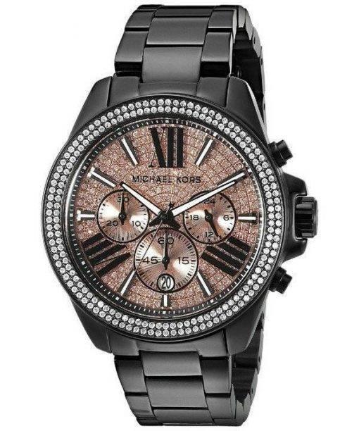 Michael Kors Everest Chronograph Rose Dial MK5879 Womens Watch
