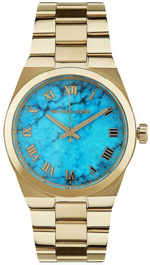 Michael Kors Channing Turquoise Dial MK5894 Womens Watch