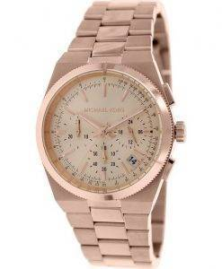 Michael Kors Channing chronographe Rose or MK5927 Women Watch Dial