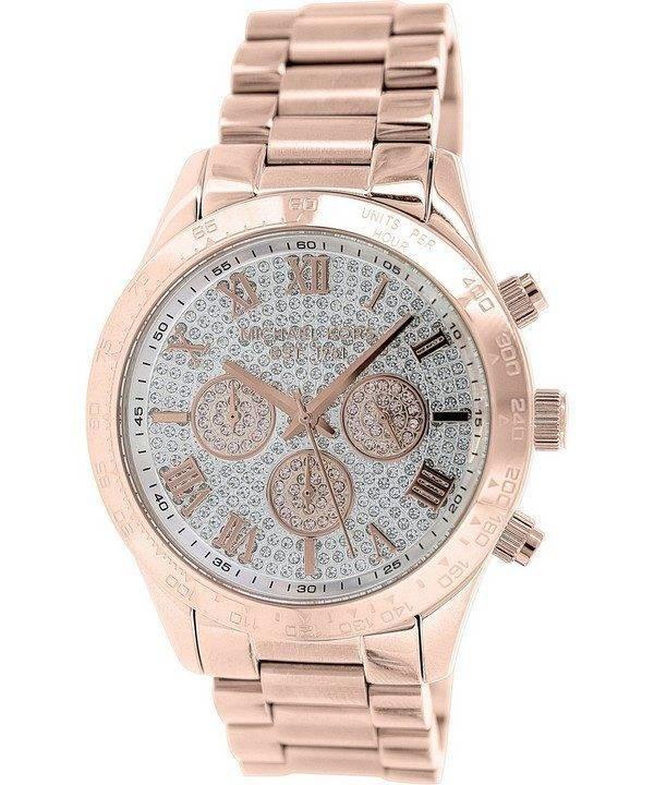 Michael Kors Layton chronographe Crystal Pave MK5946 Women Watch Dial