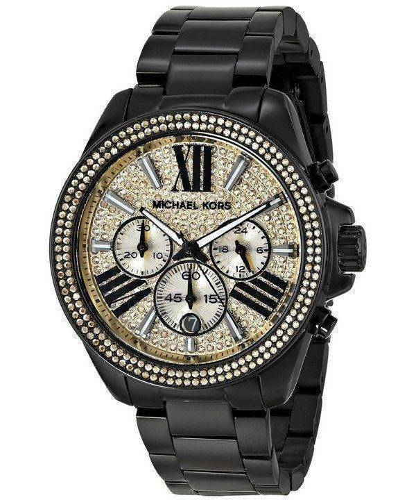 Michael Kors Wren Chronograph Crystal Pave Dial MK5961 Womens Watch
