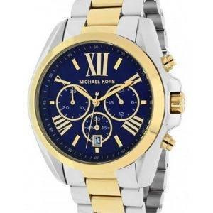 Montre Michael Kors chronographe Bradshaw bicolore MK5976 féminin