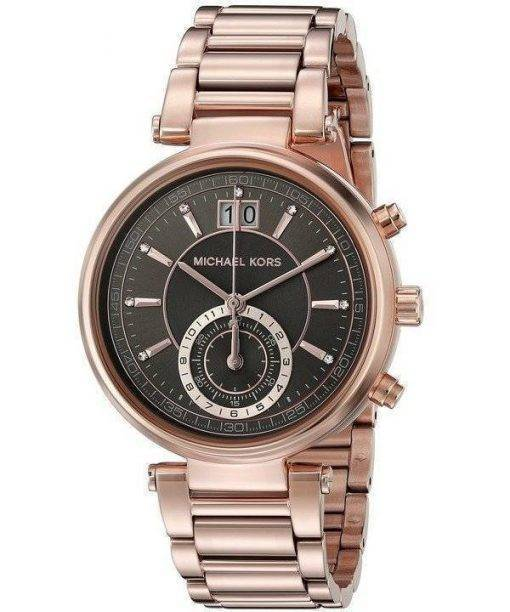 Michael Kors Sawyer Grey Dial MK6226 Womens Watch