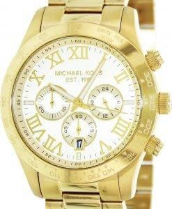 Michael Kors Layton Chronograph Gold Tone MK8214 Mens Watch