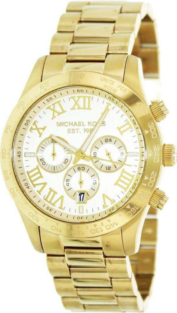 Michael Kors Layton Chronograph Gold Tone MK8214 Mens Watch