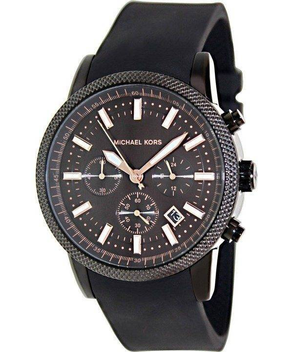 Michael Kors Scout Chronograph Black Dial MK8317 Mens Watch