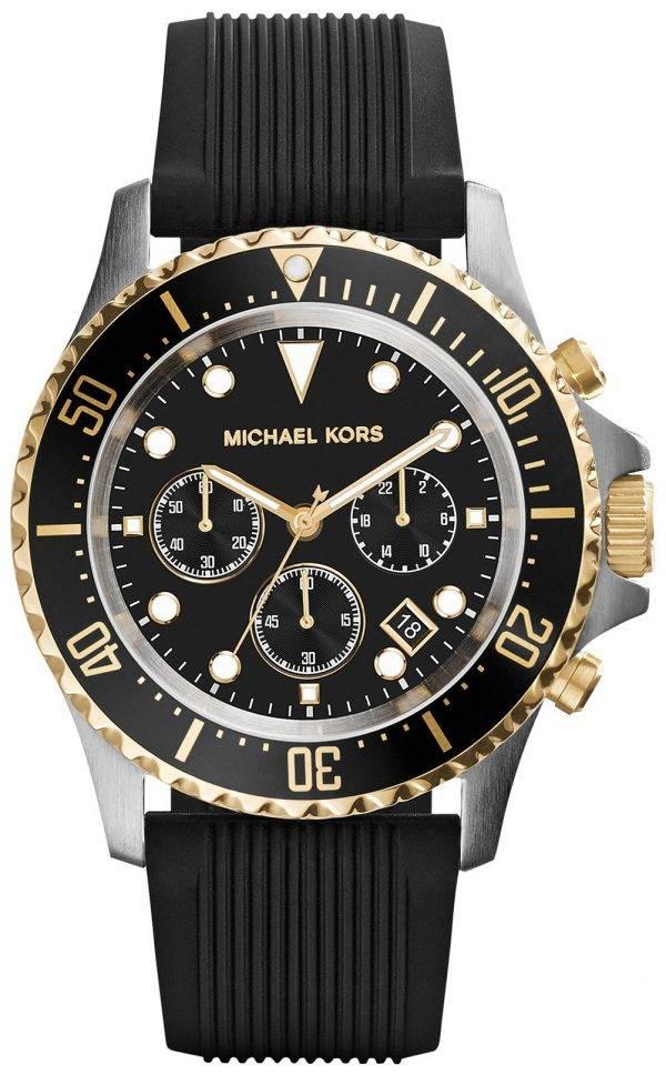 Michael Kors Everest Chronograph Black Dial MK8366 Mens Watch