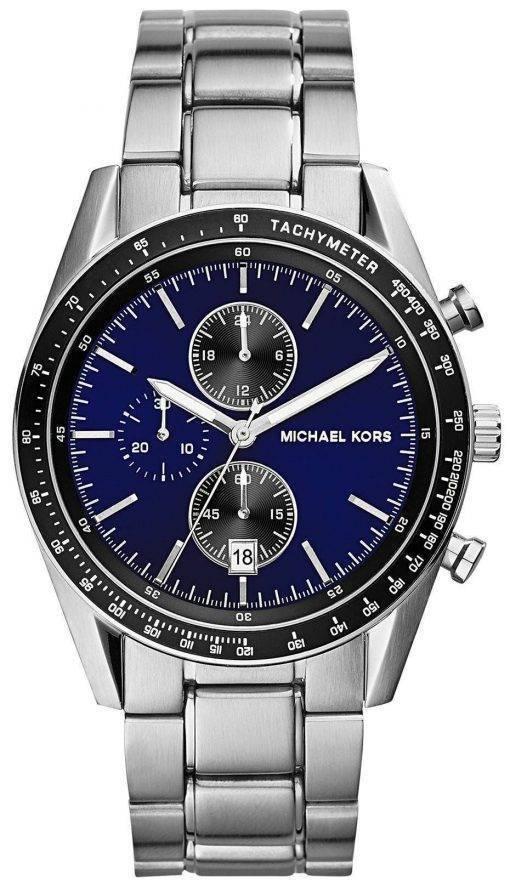 Michael Kors Accelerator Chronograph Blue Dial MK8367 Mens Watch