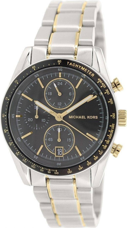Michael Kors Accelerator Chronograph Black Dial MK8368 Mens Watch