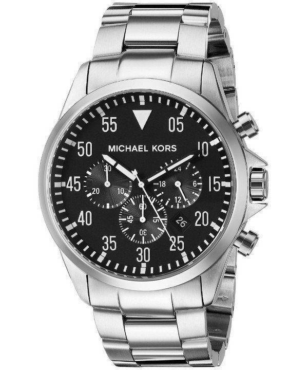 Michael Kors Gage Chronograph Black Dial MK8413 Mens Watch