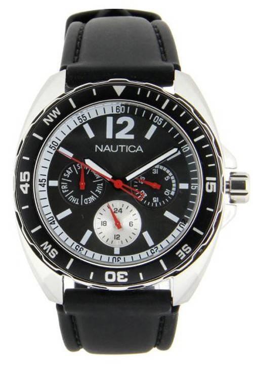 Watch Nautica multifonctions Dial N09910G hommes du Black