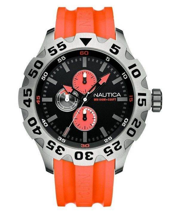 Nautica BFD 100 Multifunction N15565G Mens Watch
