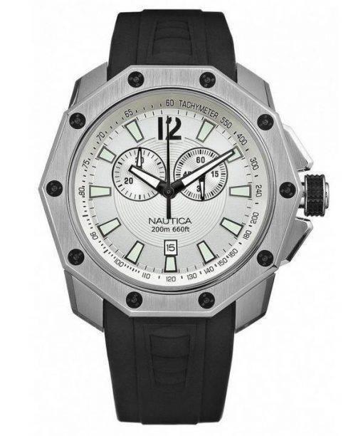 Nautica NVL100 Chronograph Decagon Case N24515G Mens Watch