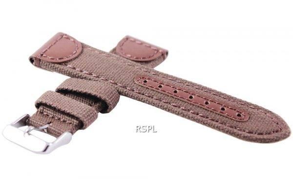 Sangle de toile 22mm Seiko SKX007, SKX009, SKX011, SRP497, SRP641