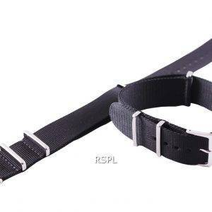 Seiko 22mm noir Bracelet acier pour SKX007 SKX009, SKX011, SRP497, SRP641