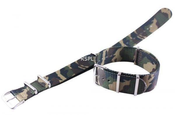 Bracelet acier armée 22mm pour SKX007 SKX009, SKX011, SRP497, SRP641