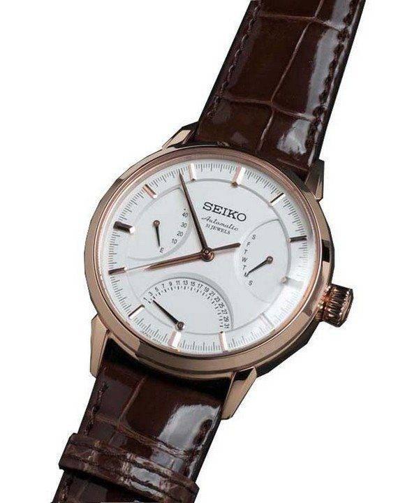 Seiko automatique Presage 31 rubis SARD006 montre homme