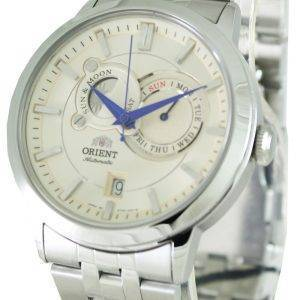 Orienter le soleil automatique & Moon SET0P002W0 Mens Watch