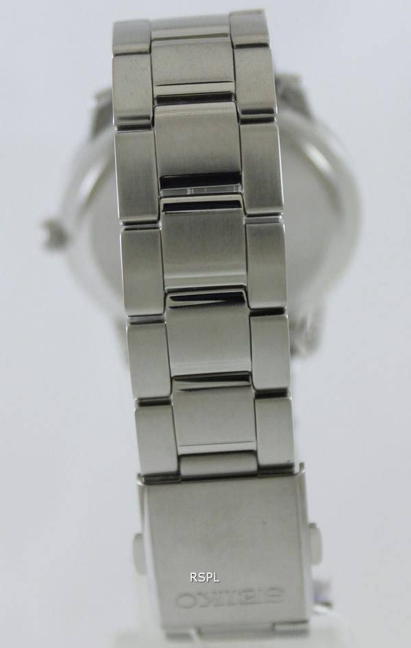 Seiko Quartz Sapphire Black Dial SGEH05P1 SGEH05P Mens Watch