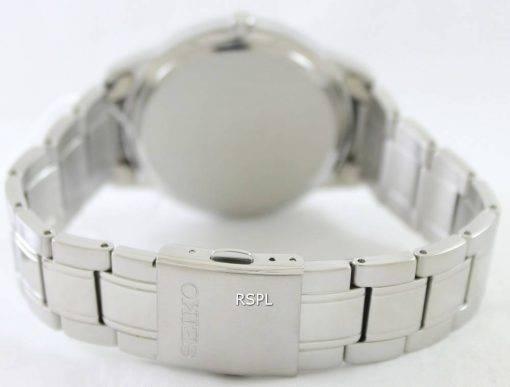 Seiko Quartz Black Dial SGEH09P1 SGEH09P Mens Watch