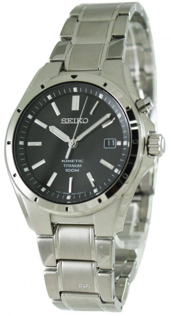 Seiko Kinetic Titanium SKA493P1 Mens Watch