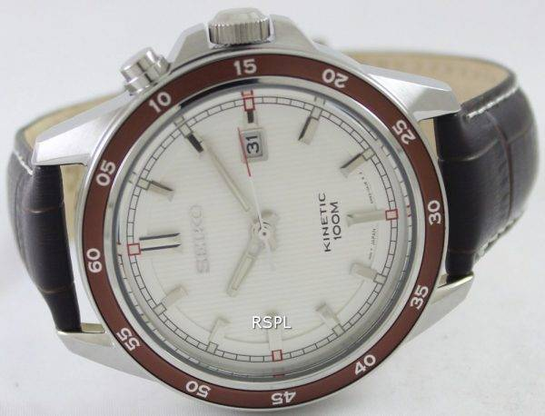 Seiko Kinetic 100M SKA645P1 SKA645P Mens Watch