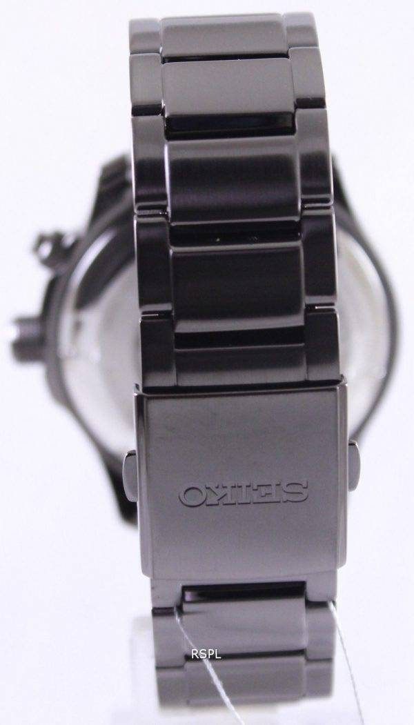 Seiko Neo Sports Kinetic 100M Black Dial SKA687P1 SKA687P Mens Watch