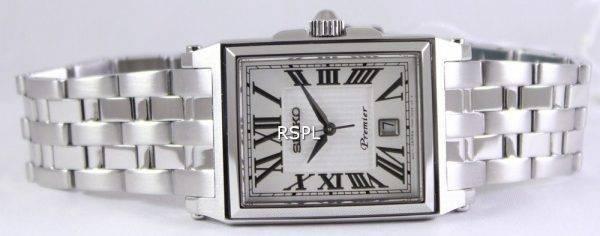 Seiko Premier Quartz SKK715P1 SKK715P Men's Watch