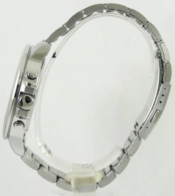 Seiko Chronograph Quartz Black Dial SKS445P1 SKS445P SKS445 Mens Watch