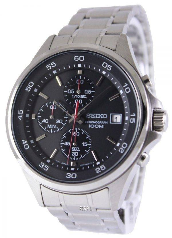 Seiko Chronograph Quartz 100M SKS477P1 SKS477P Mens Watch