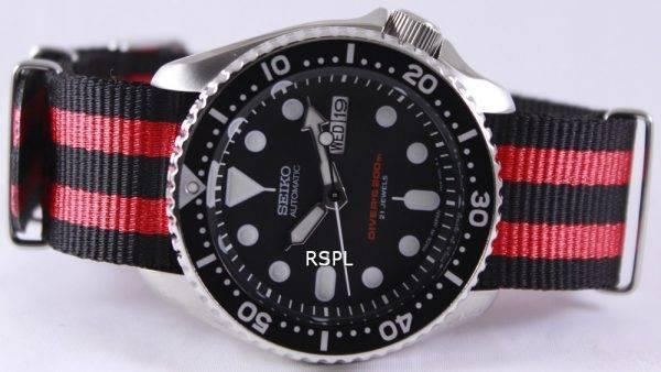 Seiko Automatic Diver's 200M NATO Strap SKX007J1-NATO3 Mens Watch