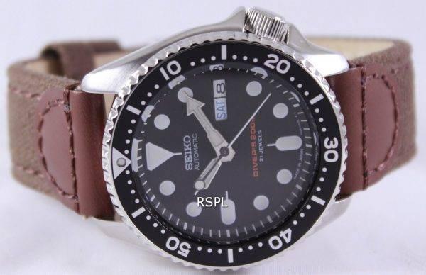 Seiko Automatic Diver's Canvas Strap SKX007J1-NS1 200M Mens Watch