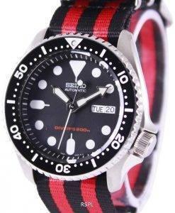 Montre 200M NATO bracelet SKX007K1-NATO3 masculin automatique Seiko Diver