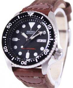 Watch en Nylon sangle SKX007K1-NS1 200M hommes Seiko automatique montre de plongée