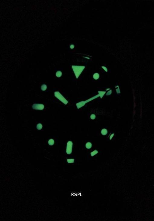 Watch en Nylon sangle SKX009K1-NS1 200M hommes Seiko automatique montre de plongée