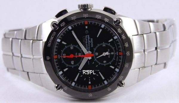 Montre Seiko Sportura alarme chronographe SNA451P1 SNA451P SNA451 hommes